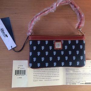 New Giants Dooney Bourke clutch purse